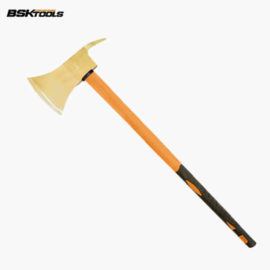 Non-Sparking Hoe Axe with Fiber Handle