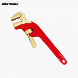 Non-Sparking Diagonal Type Pipe Wrench