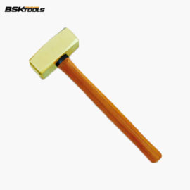 Non-Sparking Sledge Hammer with Wooden Handle